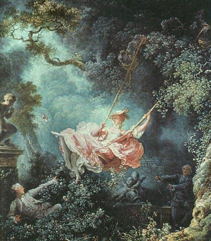 Saló d'art del Fòrum les pintures preferides! El_gronxador._fragonard